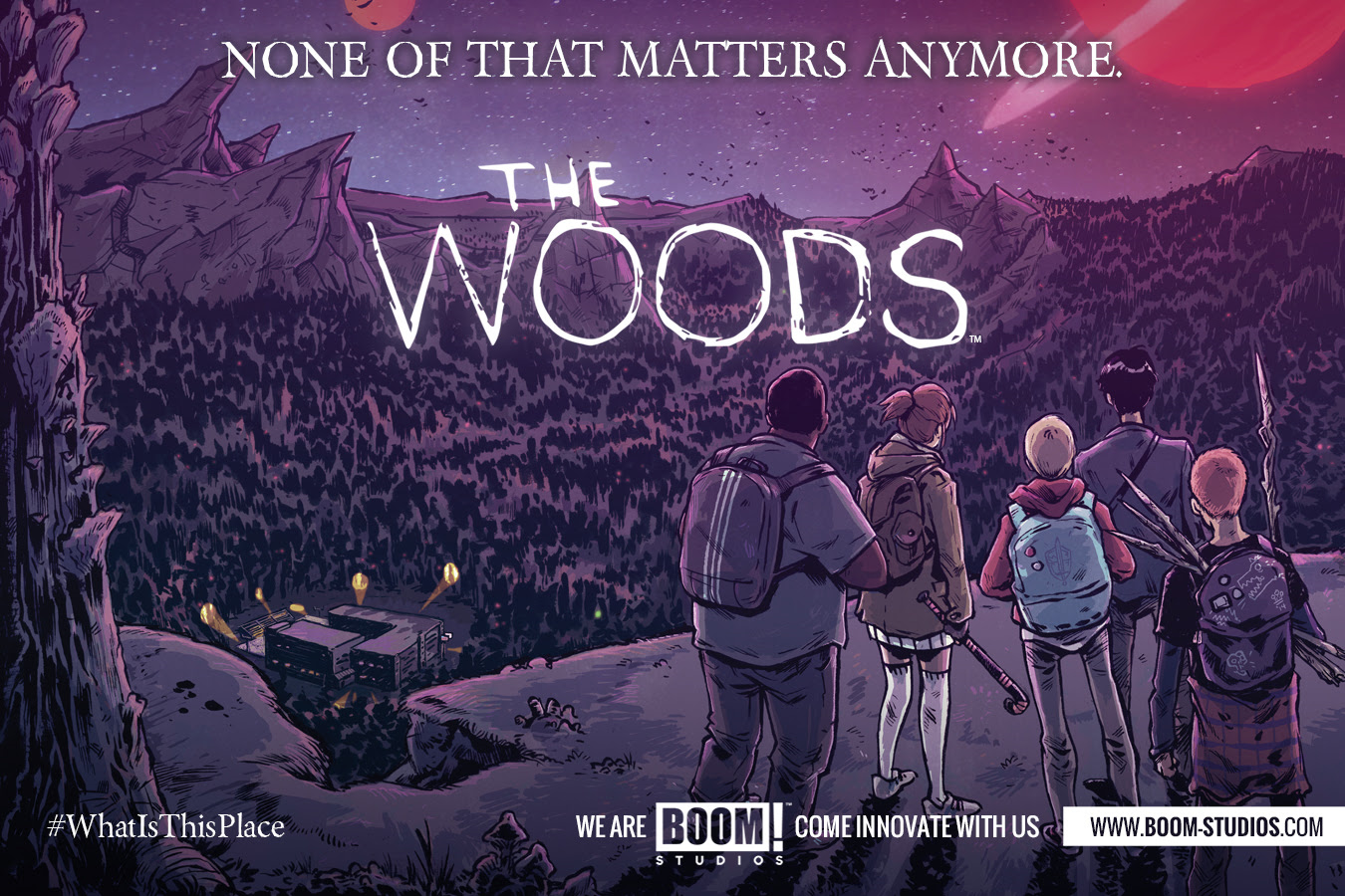 Follow James Tynion into THE WOODS…Oh, and Doctor Robot is a Space Monkey.