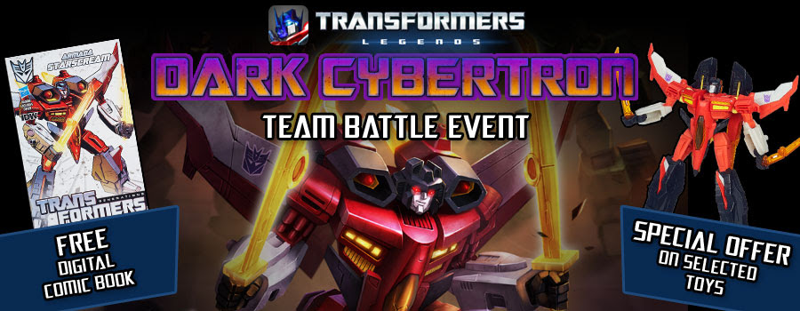 Hasbro, DeNA, and IDW Publishing Deliver the Ultimate Fan Experience for TRANSFORMERS: LEGENDS' Dark Cybertron Episode