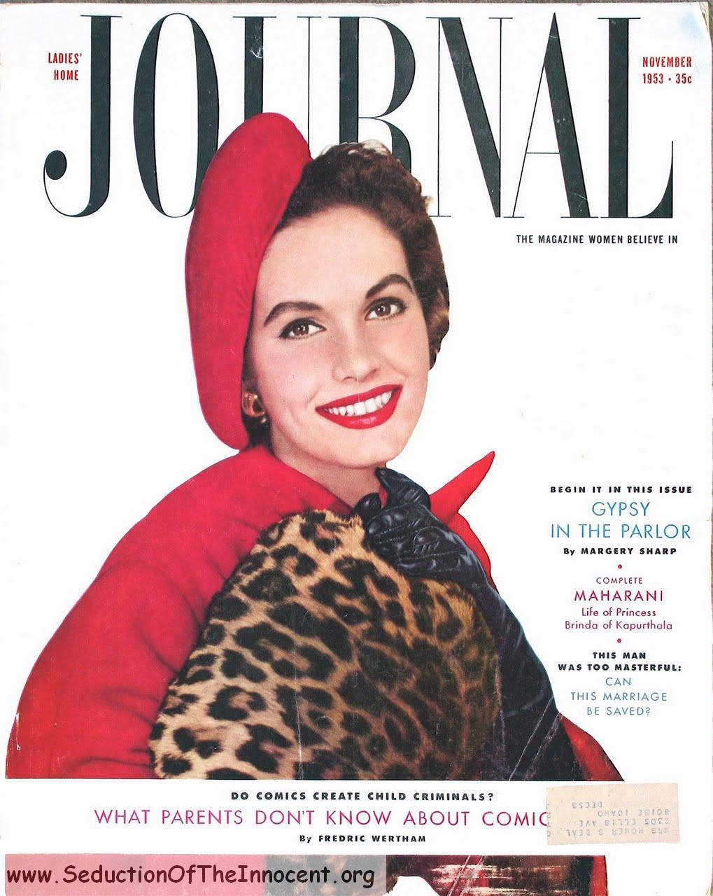 LadiesHomeJournalNovember1953Cover