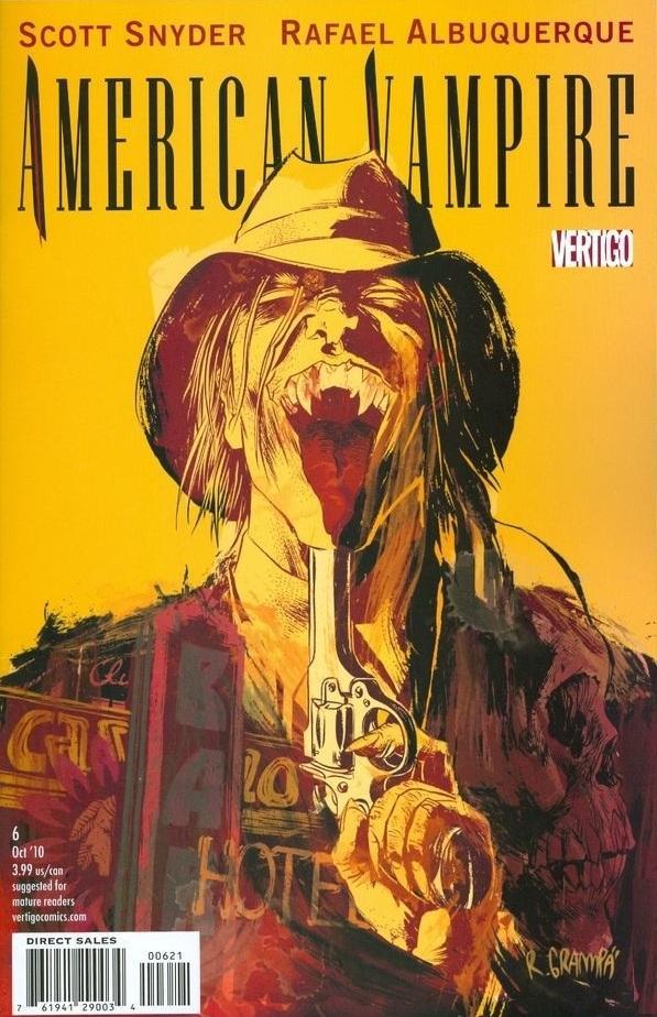 Amercian Vampire 6 Cover R. Grampa Variant