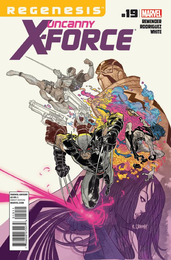 Uncanny X-Force 19 R. Grampa Cover
