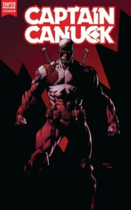 Captain Canuck 1 David Finch variant InvestComics