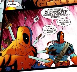 Deadpool meets Deathstroke