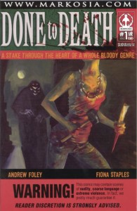 Done To Death #1 InvestComics