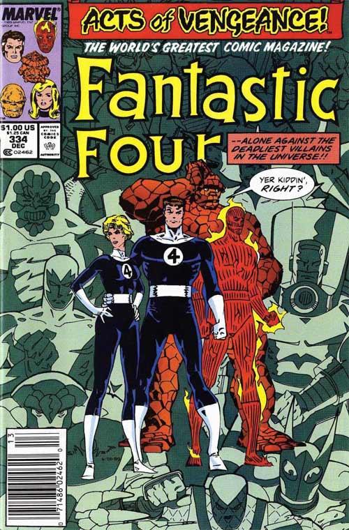 Fantastic Four 334 InvestComics