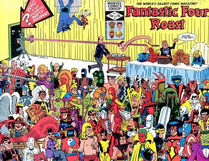 Fantastic Four Roast 1 InvestComics