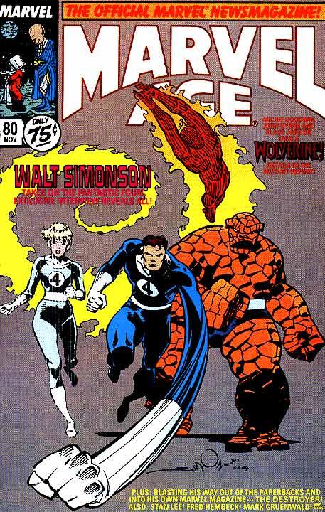 Marvel Age 80 InvestComics