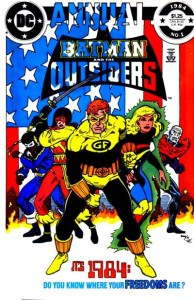 Batman and the Outsiders Annual #1 InvestComics