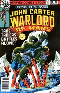 John Carter Warlord of Mars #18 InvestComics