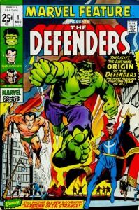Marvel Feature The Defenders #1 InvestComics