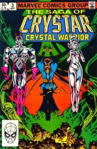 The Saga of Crystar Crystal Warrior #3 InvestComics