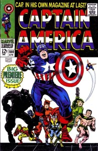 Captain America 100 InvestComics