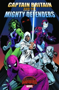 Captain Britain and the Mighty Defenders 1 InvestComics