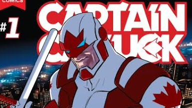 WIN Captain Canuck #1 Variant Signed