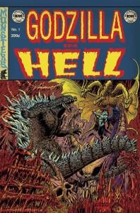 Godzilla in Hell 1 InvestComics