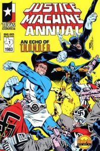 Justice Machine Annual 1 InvestComics