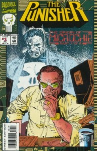 The Punisher the Origin of Microchip #1