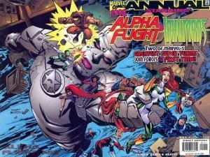 Alpha Flight Inhumans Annual InvestComics