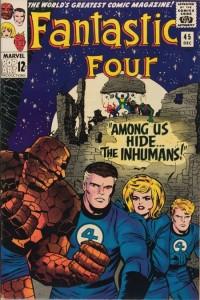 Fantastic Four 45 InvestComics