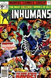 Inhumans 10 InvestComics