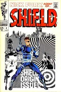 Nick Fury Agent of Shield 4 InvestComics
