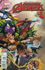 New Avengers 1 InvestComics