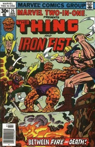 Marvel two in one 25 InvestComics