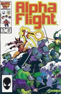 Alpha Flight 34