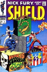 Nick Fury Agent of Shield #1