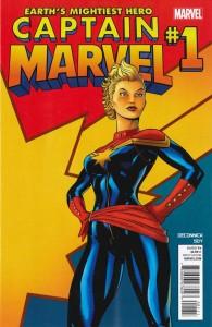 Captain Marvel #1 2012