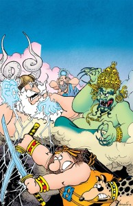 Groo Fray Of The Gods #1