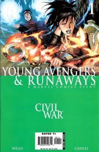 Civil War Young Avengers & Runaways #1
