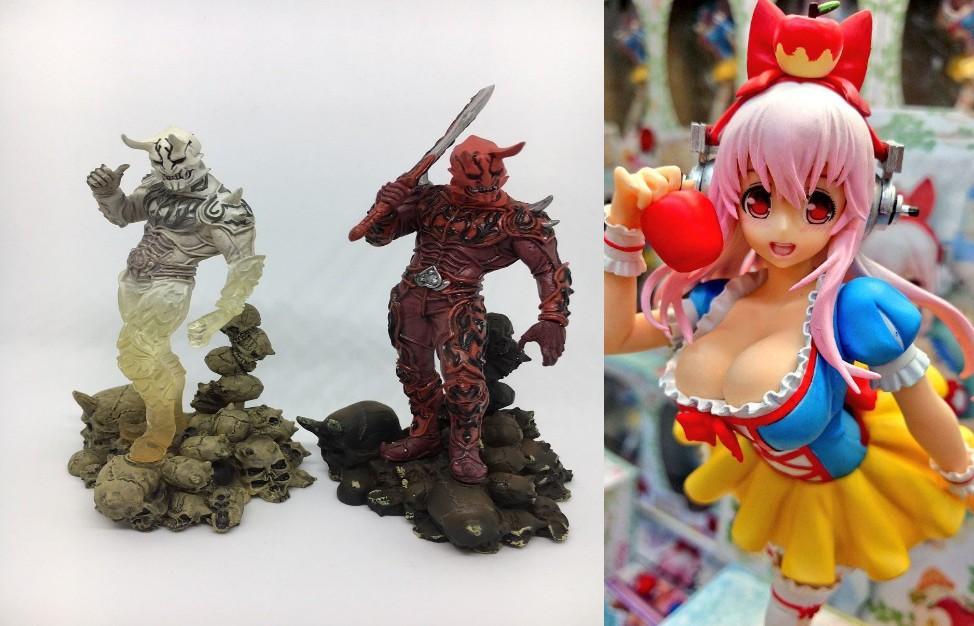 Anime Figures under 50