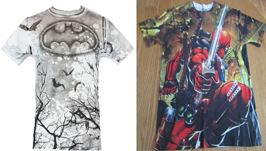 Awesome Comic Tees 20 and less