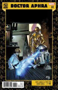 Star Wars Doctor Aphra #4 Pepe Larraz