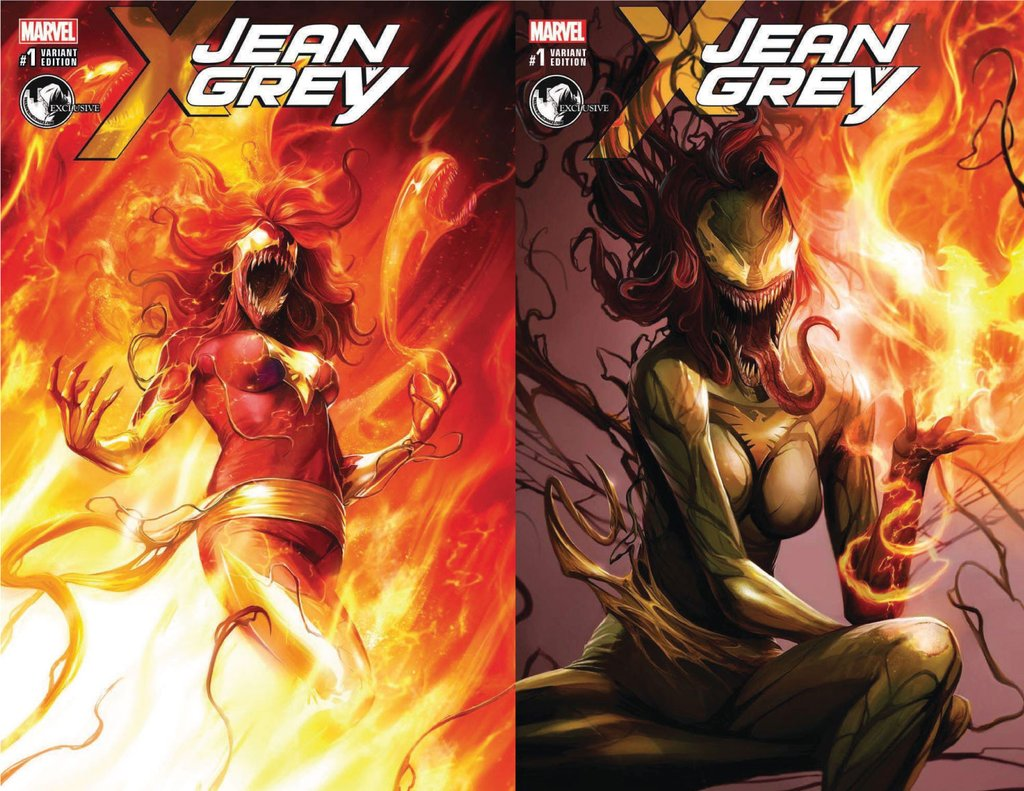 WIN Jean Grey #1 Variants