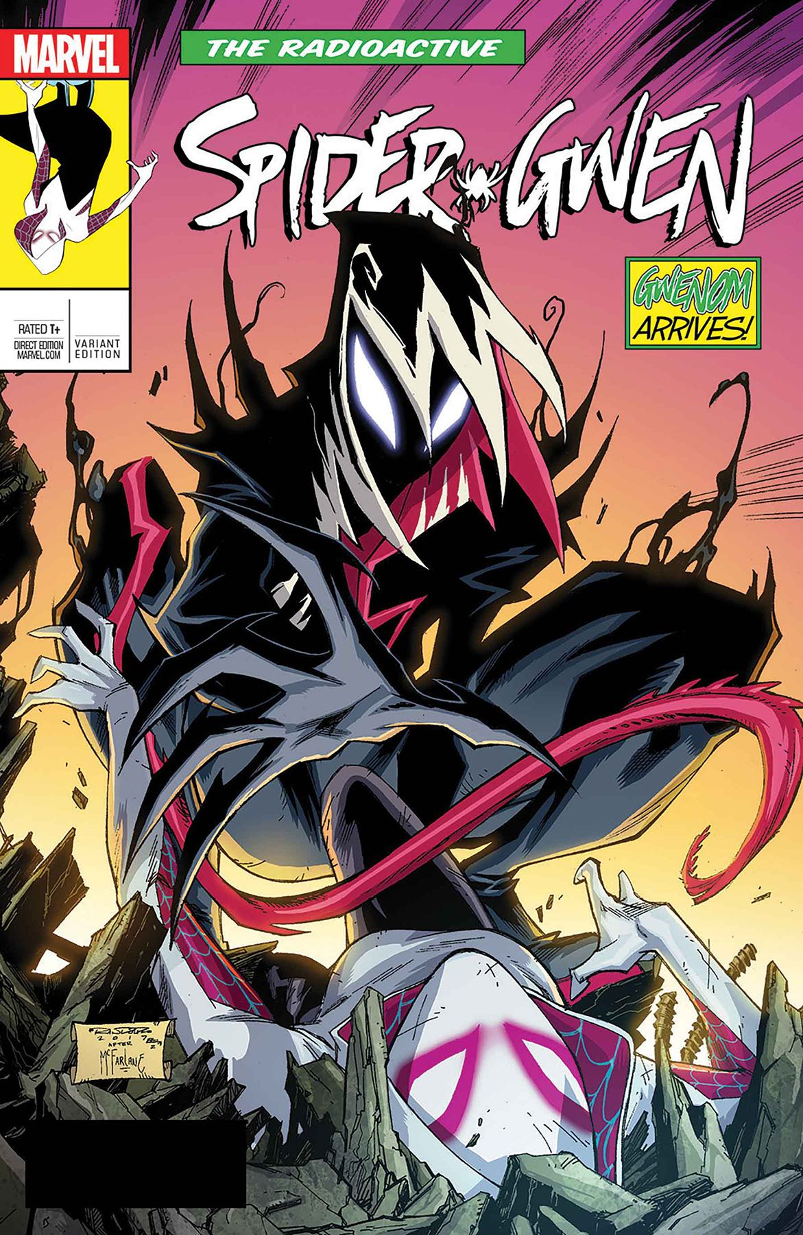 WIN Signed Ed McGuinness Spider-Gwen