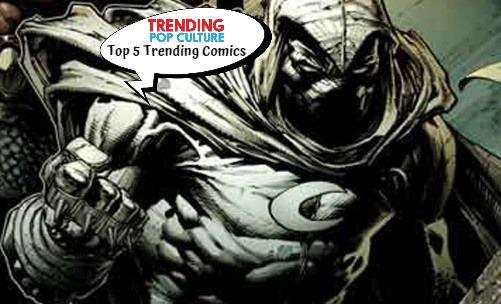 Top 5 Trending Comics 12-4-19