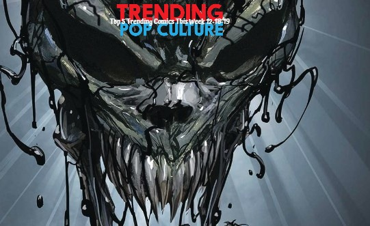 Top 5 Trending Comics This Week 12-18-19