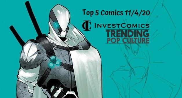 Top 5 Comics 11/4/20