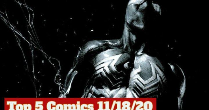Top 5 Comics 11/18/20