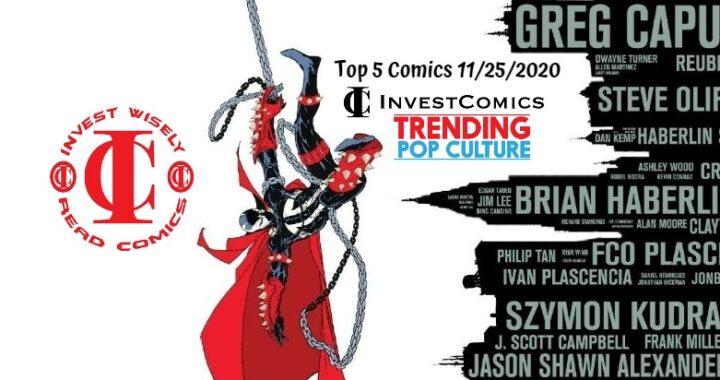 Top 5 Comics 11/25/20