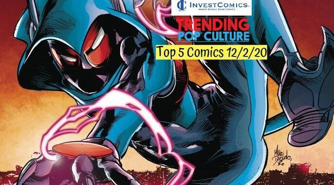 Top 5 Comics 12/2/20