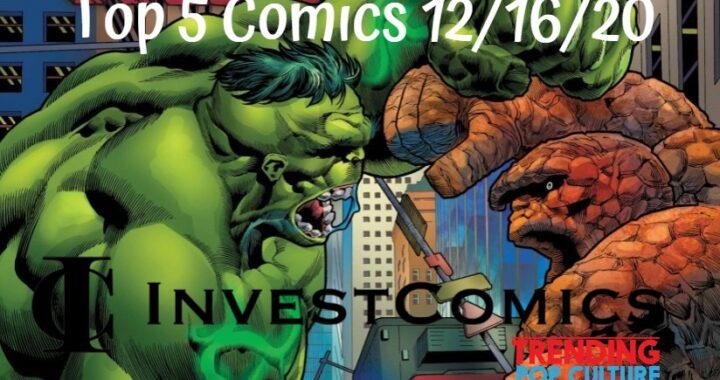 Top 5 Comics 12/16/20