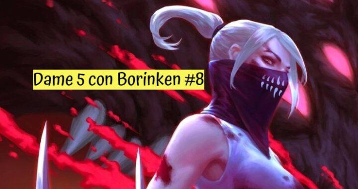 Dame 5 con Borinken #8