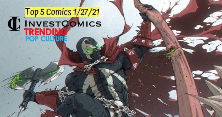 Top 5 Comics 1/27/21