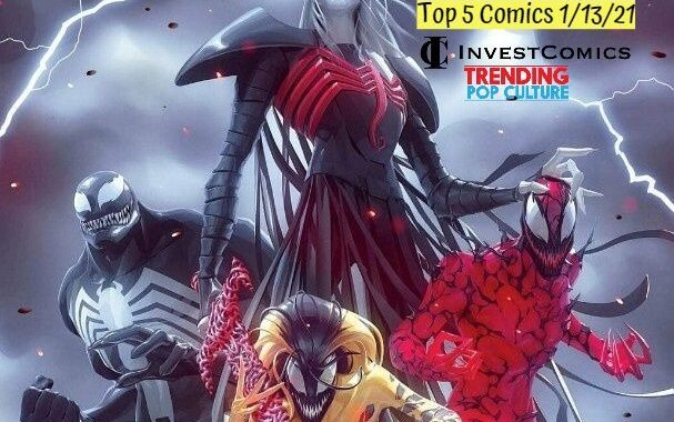 Top 5 Comics 1/13/21
