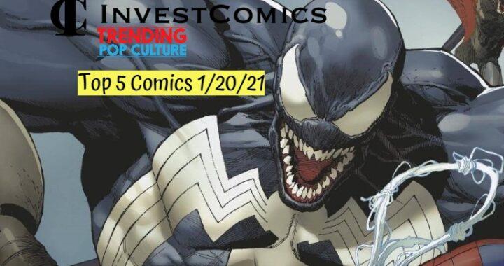Top 5 Comics 1/20/21