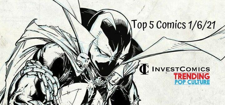 Top 5 Comics 1/6/21