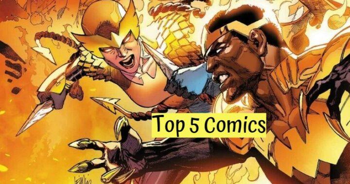 Top 5 Comics 2/3/21